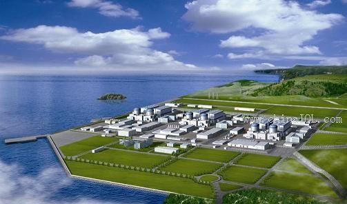 阳江核电站,台山核电站,宁德核电站,田湾核电站,石岛湾核电站,防城港