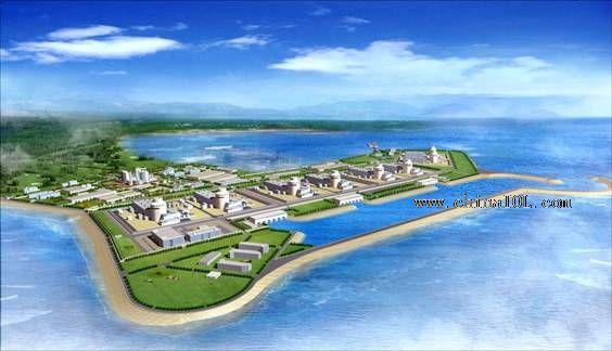 宁德核电站,阳江核电站,田湾核电站,福清核电站,方家山核电站,石岛湾