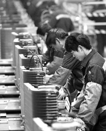河南重点招商引资项目格力电器(郑州)有限公司自2011年11月18日内部试